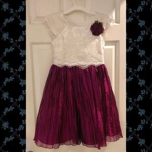 Lace and Sparkle for an extra fancy girl!